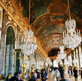 The Palace of Versailles inside