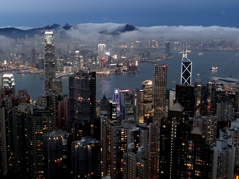 View from Hong Kong when i was there.