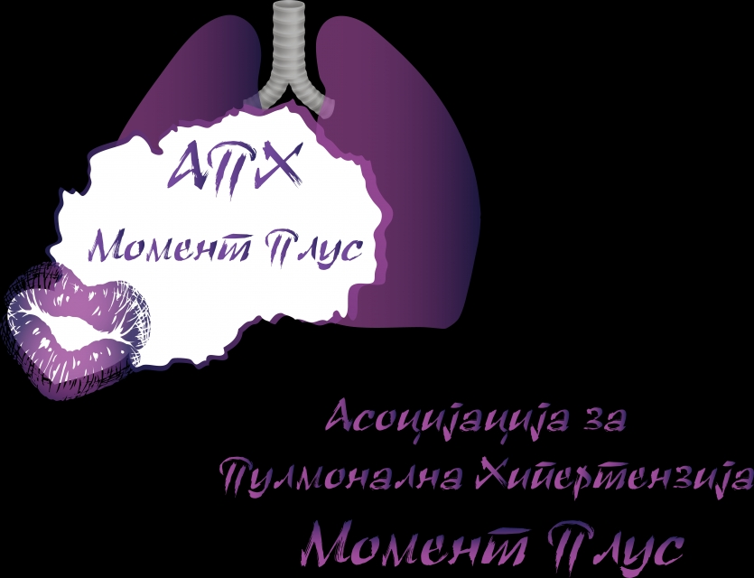 """Logotype of APH """"Moment Plus"""""""