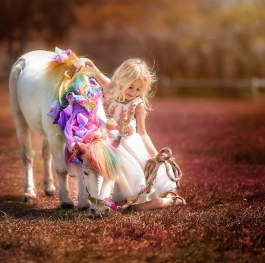 In a field of horses, be a unicorn.