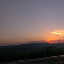Bulgarian sunset