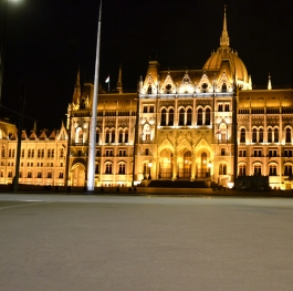 Budapest at night