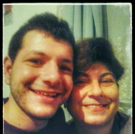 Selfie with my mother