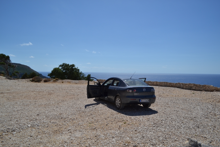Mazda on Lefalonia