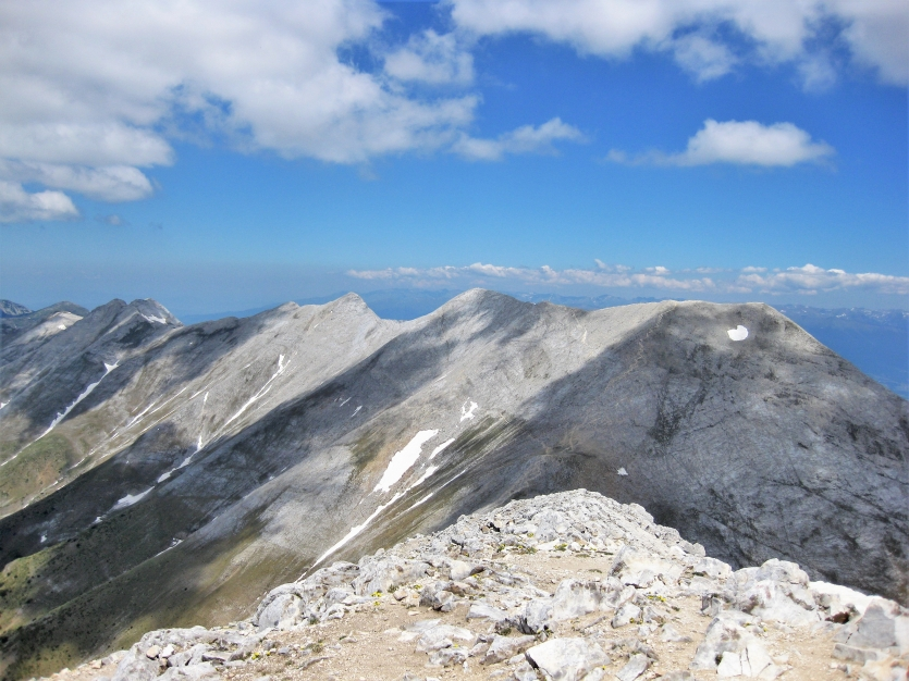 The Central Ridge of  Pirin mountain.