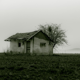 There is a house...