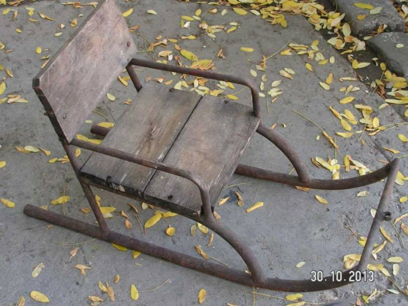 Hand-made chair