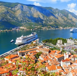 Kotor - the charming  Montenegrin port