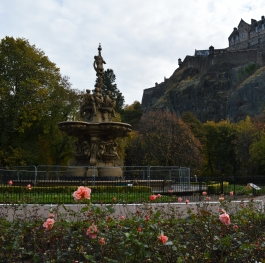 Edinburgh Castle - a darker fairy tale