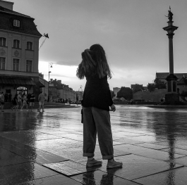 Girl at Warsaw