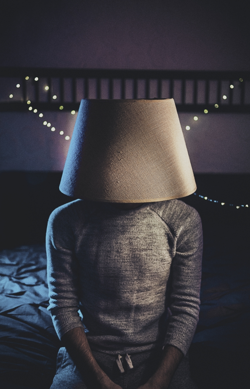 the lamp shade