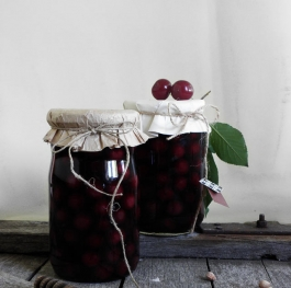 Canning Sour Cherries