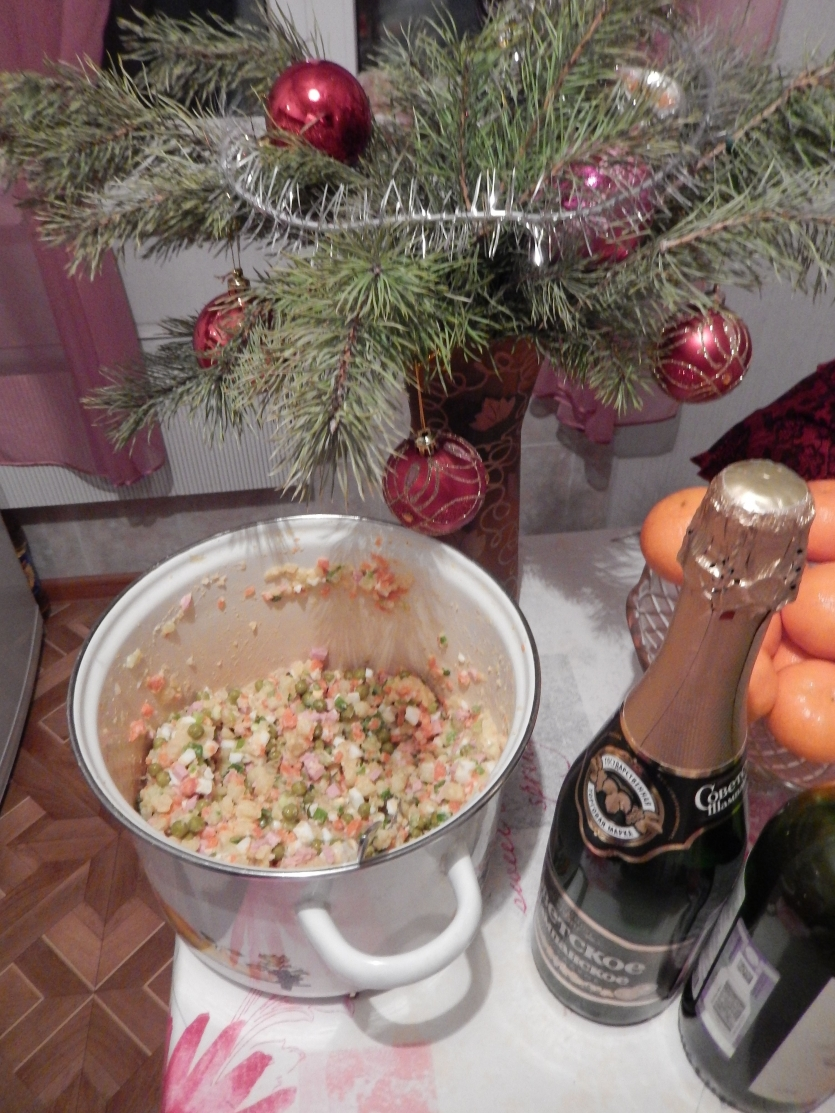 Russian new year.