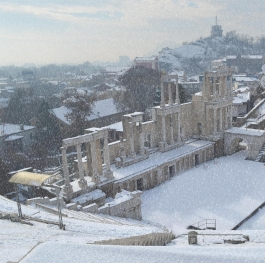 Winter Tale of The Ancient Theatre - Plovdiv, Bulgaria