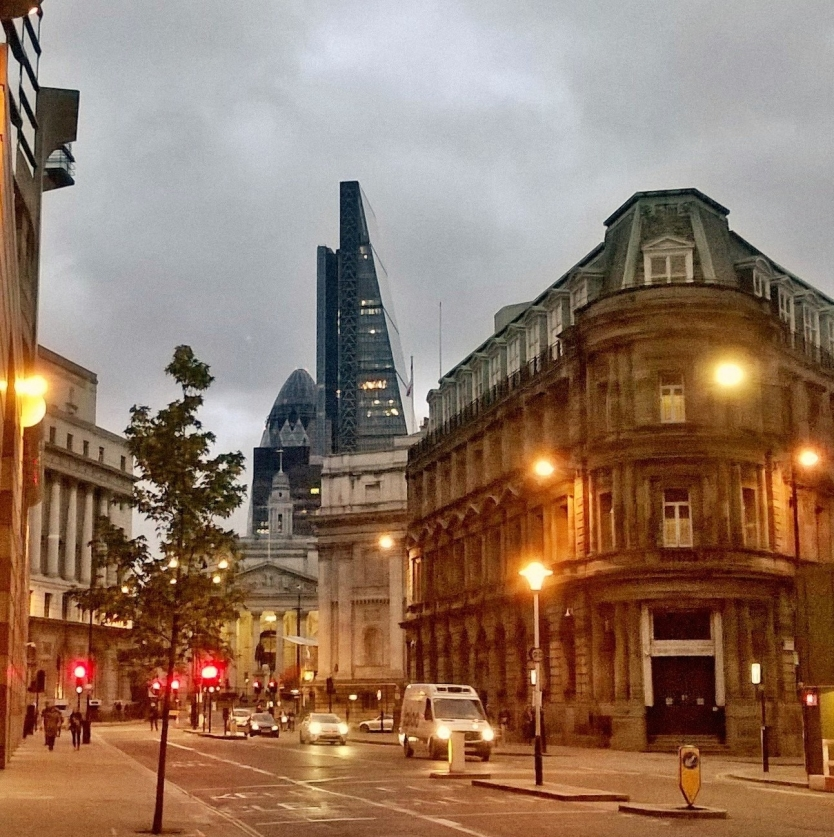 It's almost night in London!