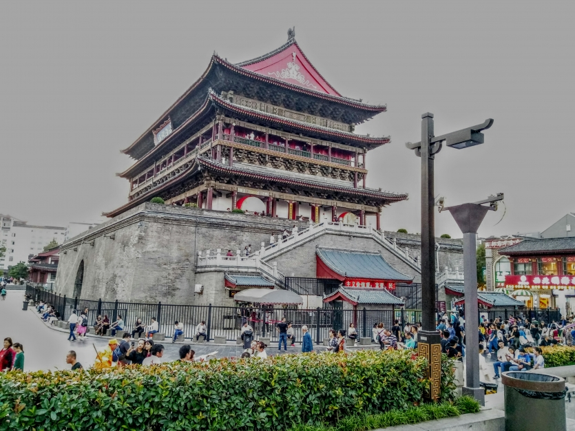 The Drum Tower, Xi'an, China.