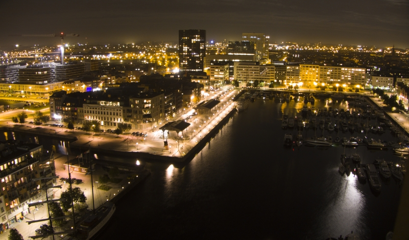Antwerp at night