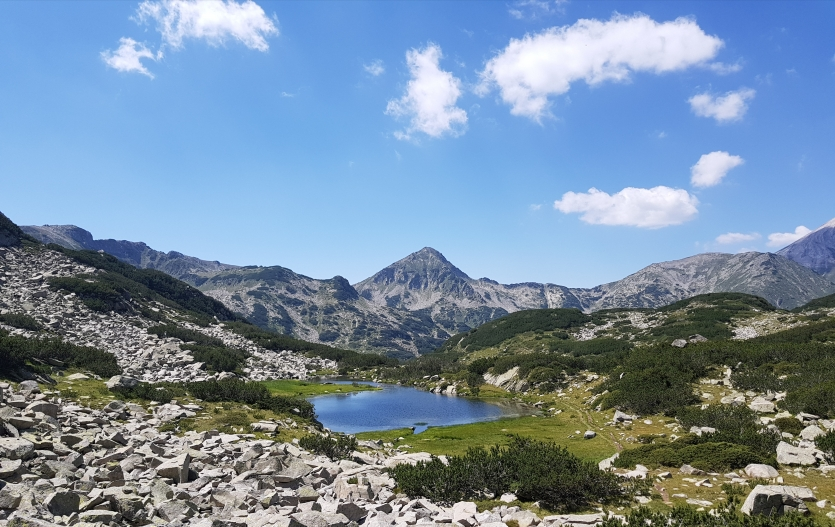 The lake, the peak, the magic... or just Pirin