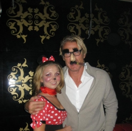 Me and Dolph Lundgren