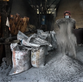 From Matang Mangroves Woods to charcoal Factory