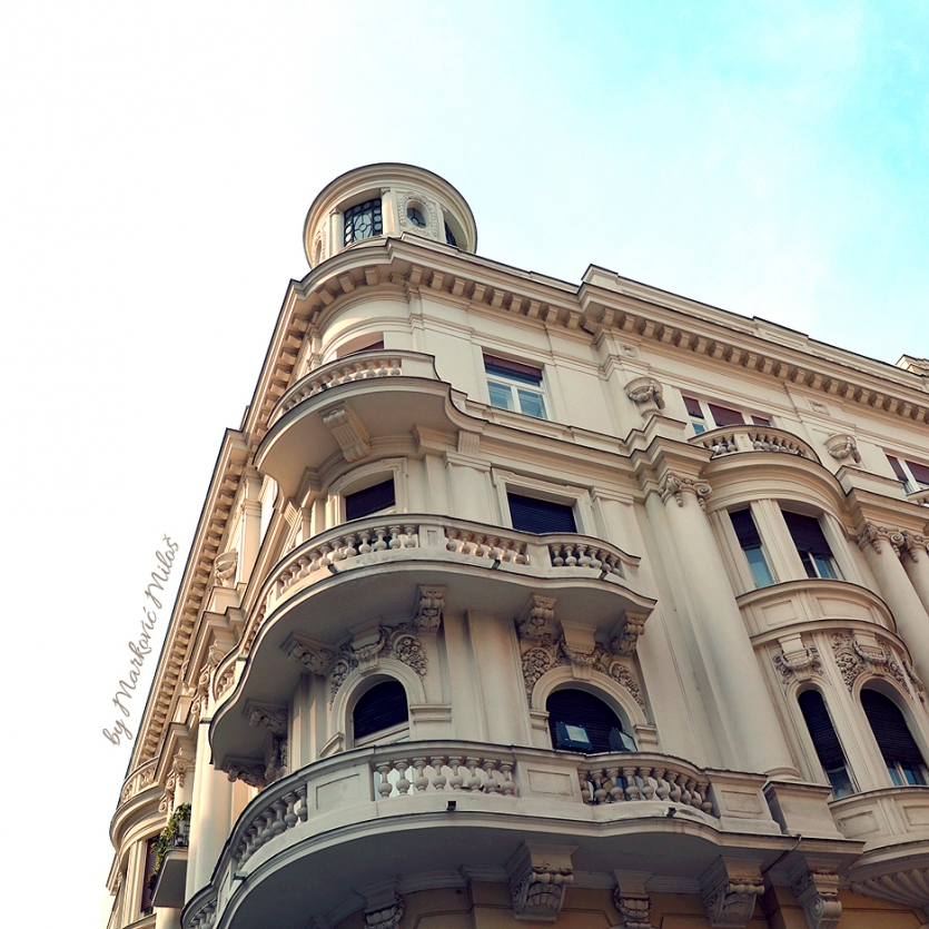 Great architecture of old Belgrade