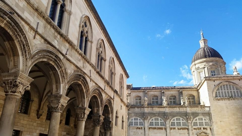 Old Architecture in Old City of Dubrovnik