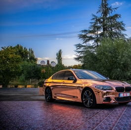 Golden BMW