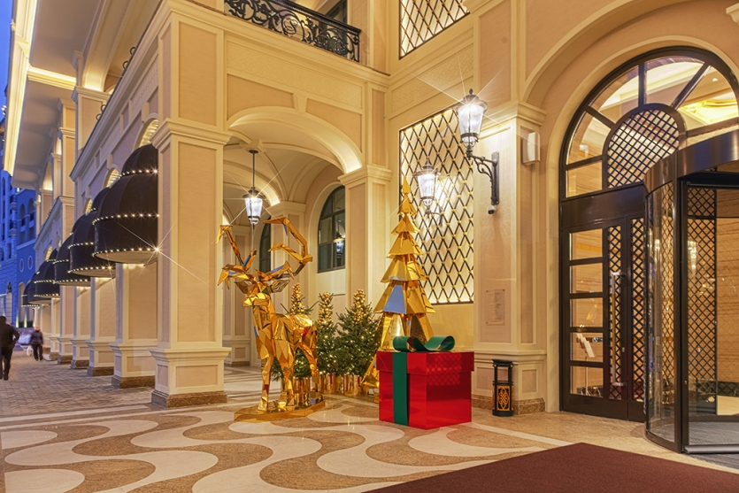 "Radiant entrance in ""Sochi Casino and the Resort"""