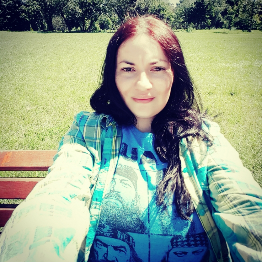 Me  in the park