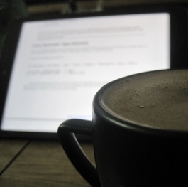 Coffe + IPad
