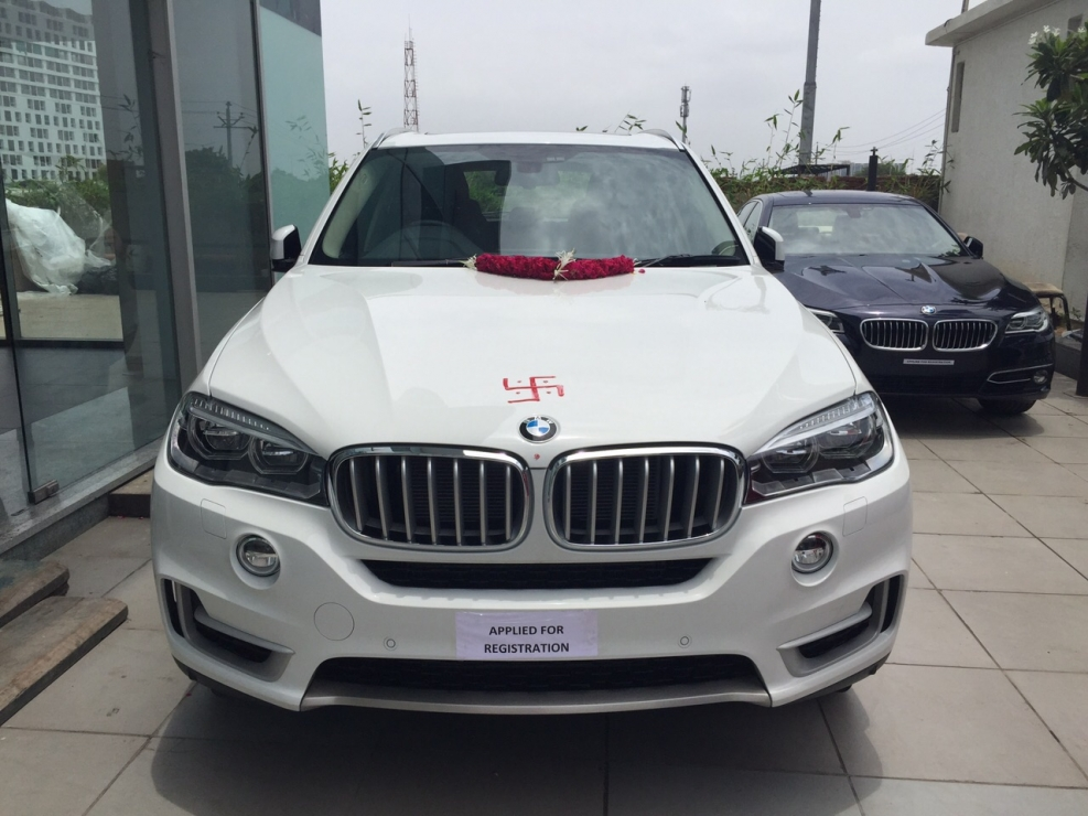 This is bmw x5. This car is bought by me.