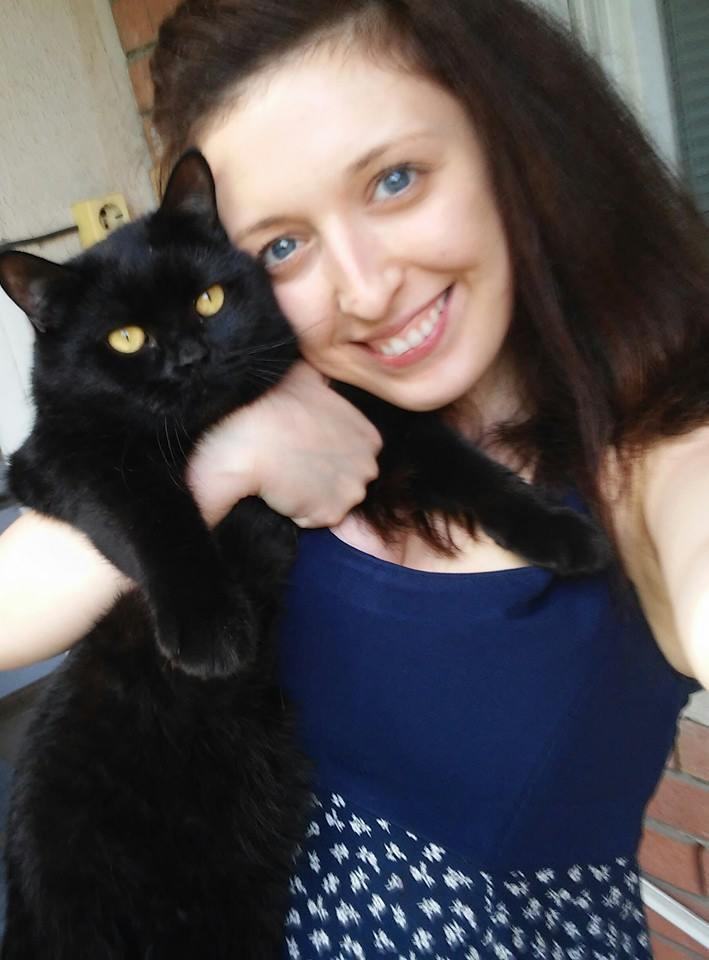 me and my british shorthair Chester