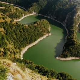 Canyon of the river Uvac