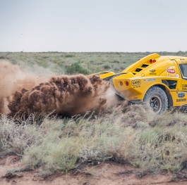 Rally raid of Moscow-Astana-Beijing 2016