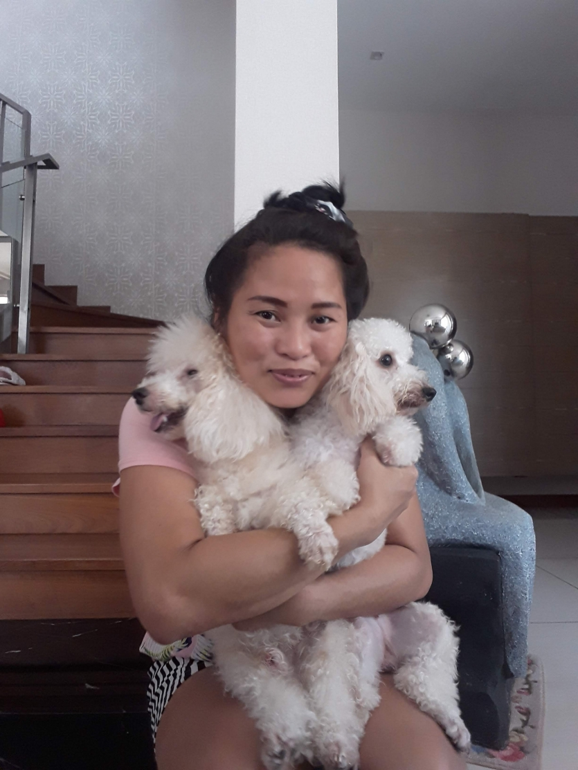 Tricia and Mocha