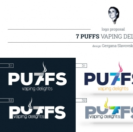 7puffs Logo proposal 3