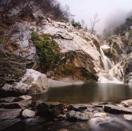 Suchurum Waterfall, Karlovo, Bulgaria