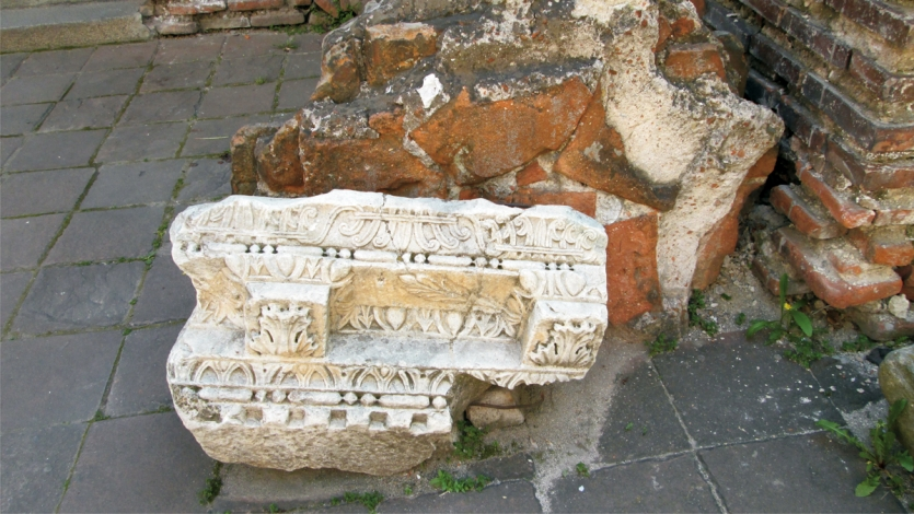 """Stone from Church Rotunda - """"St. George """".... Old is gold"""