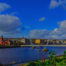 The Peace Bridge - Derry Northern Ireland