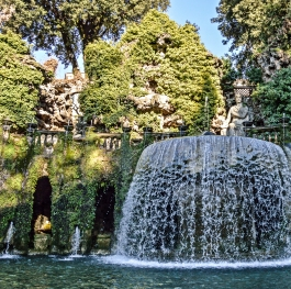 The beauty of Villa d' Este