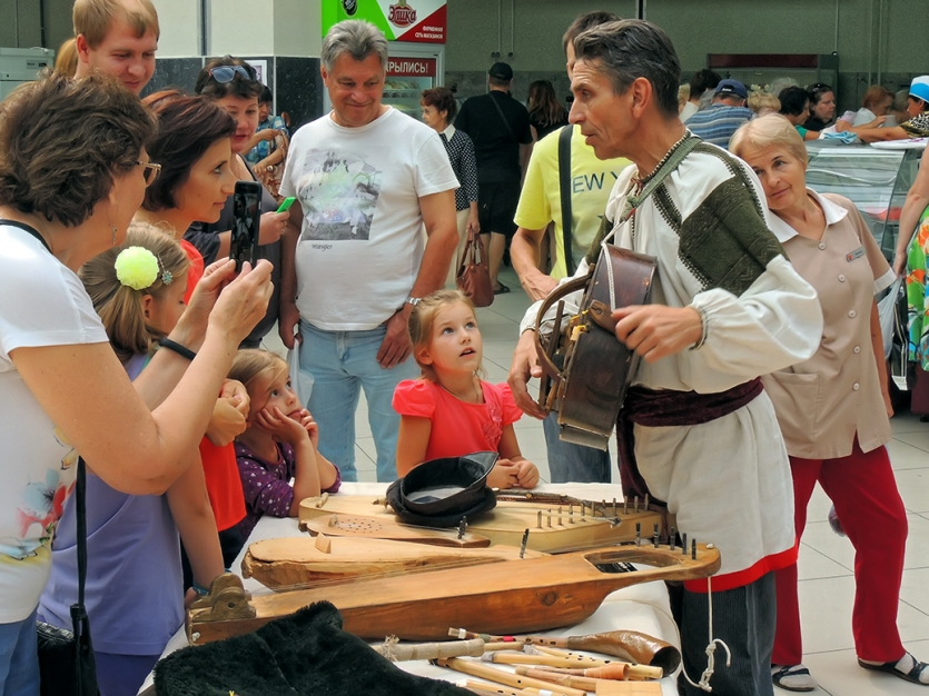 The story about of ancient musical instruments