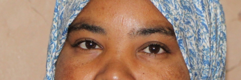 Young Moroccan Woman eyes
