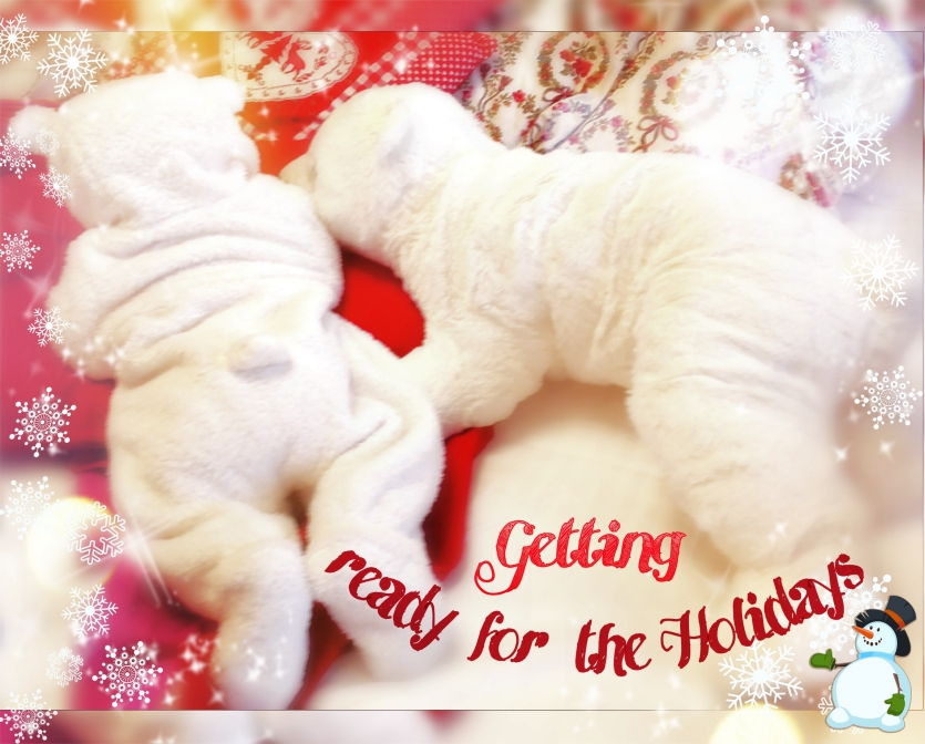 holiday is here