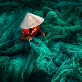 Phan Rang Fishing Net Making