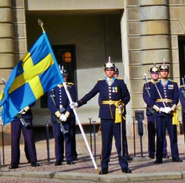 Swedish royal guards