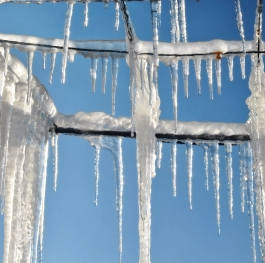 icicles in the sky