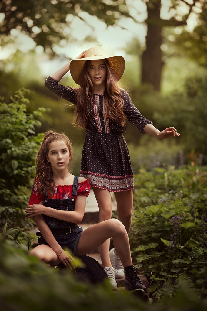 Young amazons