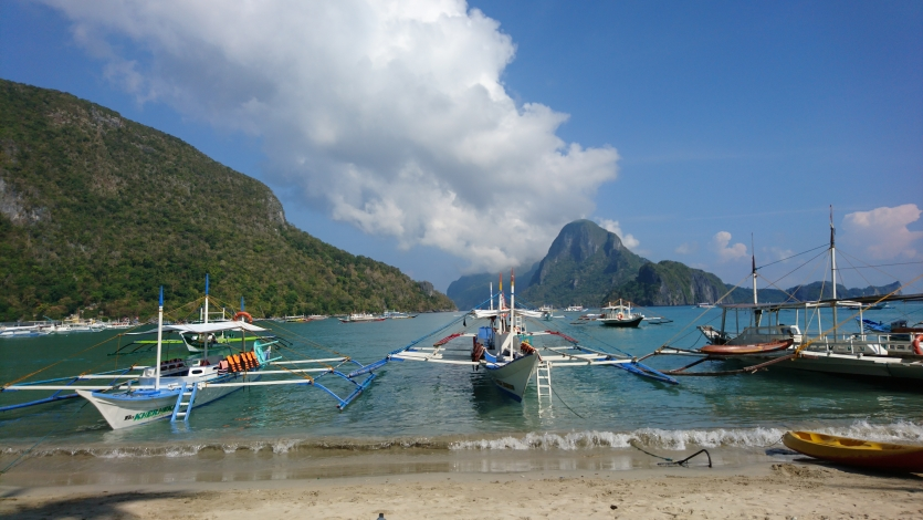 El Nido Harbour at daytime