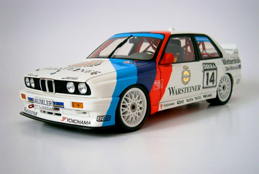 BMW M3 DTM 1992 #14  model car made by Minichamps i scale 1:18