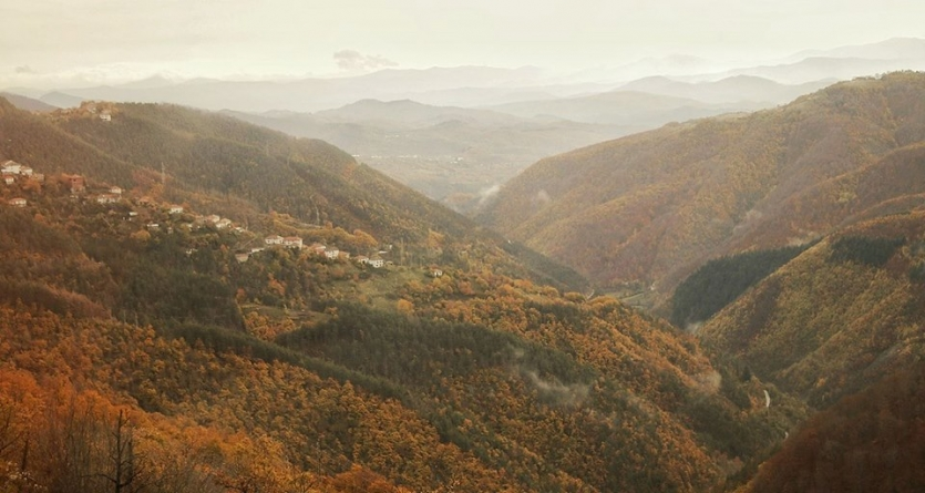 In the heart of Rhodope mountains
